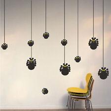 Halloween Spider Wall Decals Wallpaper Black Seasonal Decorations Vinyl, h02