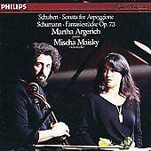 Schubert: Sonata for Arpeggione; Schumann: Fantasiestcke, Op. 73 (CD, Jul-1985,