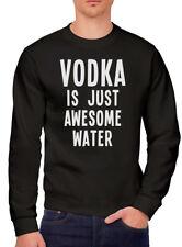 La vodka est juste SUPERBE EAU-Drôle Buvant Cadeau Fête Homme Sweat