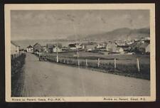 Postcard GASPE P.Q. CANADA Aerial View 1930s