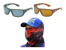 Mustad Hank Parker 100A Polarized Fishing Sunglasses with Venom Head Scarf
