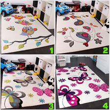Kids Play Rug Small Large Childrens Bedroom Carpet Nursery Boys Girls Room Mats