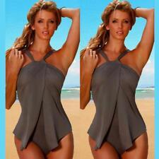 Womens Swimwear Tankini Swimsuit Bikini Set Push-up Sport Beachwear Bathing Suit