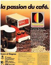 PUBLICITE ADVERTISING  1982    MOULINEX   cafetière ESPRESSO