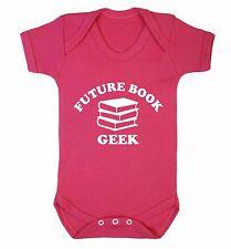 Futur Livre Geek Baby Gilet Nerd littéraire Bibliothèque des histoires Fantasy Fandom Fan 3670