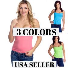 Hering Junior Ladies Basic Wirefree Shelf Bra Tank Top Camisole 0118