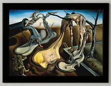 "Salvador Dali ""Evening spider"" canvas print, framed, giclee 6.8X8.8&10X13,6"