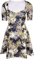 Cute vintage floral flores pin up dress vestido rockabilly