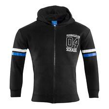 S04 FC Schalke 04 Herren-Sweat-Jacke  College schwarz