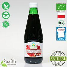 Pomegranate Juice - Pressed, NFC, Organic, BioFood