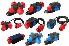 CEE Adapter Stromverteiler Baustromverteiler Verteiler 230V / 400V / 16A / 32A