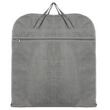 Hoesh UK GREY Dress Suit Carrier shirts Coats Blazers Travel Cover Garment Bags