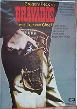 Bravados Gregory Peck Lee van Cleef Locandina del film â