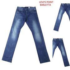 jack&jones jeans uomo slim fit strappati tim original dritto blu Taglia W28L32