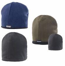 Reversible Micro Fleece Bob Hat Warm Winter Fleece Beanie