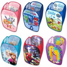 Laundry Bag Toy Storage Pop Up Hamper Kids Children Boys Girls Gift