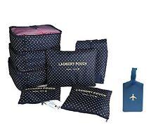 7 sacs de rangement bagage voyage organisateur valise trousse toilette (+cadeau)