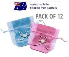 Taffeta & Organza Bag - 9cm x 11.5cm - Pack Of 12