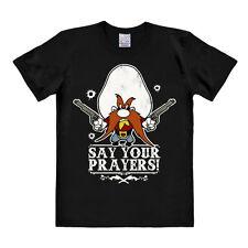 LOGOSHIRT - Looney Tunes - Cowboy - Yosemite Sam - Colt - Gebete - T-Shirt