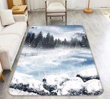 3D Pine Trees 6 Non Slip Rug Mat Room Mat Quality Elegant Photo Carpet AU Summer