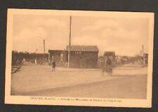 DRAVEIL (91) LIVREUR en VELO TRIPORTEUR Avenue des MOUSSEAUX & COQUELICOTS 1937