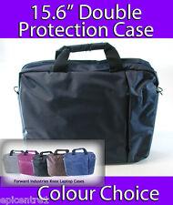 "Knox de 15,6 ""Clamshell Laptop Case maletín del portátil En Gris Oscuro Doble Protección"