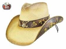 Cappello Western paglia Tenessee Dallas Hats