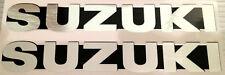 SUZUKI GS750 GS1000 GT750 GT550 GT500 GT380 GT250  TS PETROL TANK DECALS BADGES
