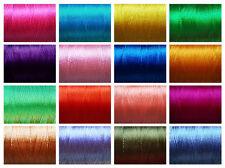 Art Silk Yarn Thread Reel ~ Hand & Machine Embroidery ~ Viscose Rayon ~ 680M