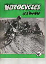 MOTOCYCLES ET SCOOTERS 7ème ANNEE N°106 SEPT 53 VOIR DESCRIPTIF SOMMAIRE