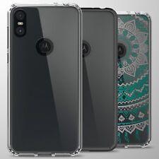 For Motorola One (P30 Play) Case TPU Bumper Hybrid Shockproof Slim Phone Cover