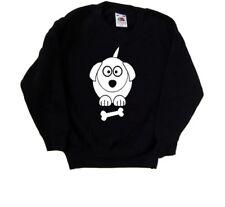 Cartoon Dog Kids Sweatshirt