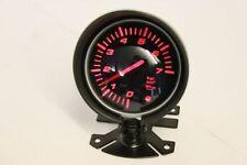 60mm pression d'huile LED Rouge Fumé Jauge & pod en boutique REV turbo oil & water temp