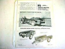 International 130, 155 & 175 Manure Spreaders Brochure 1964