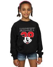 Disney Niñas Mickey Mouse Split 28 Camisa De Entrenamiento