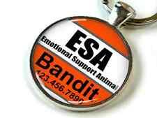 Service dog Emotional Support Animal orange white CUSTOM pet dog cat ID