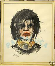 (PRL) PIETRO ROSA ARTE ART QUADRO PITTURA PEINTRE 1966 DA MUSEO COLLEZIONE ARTE