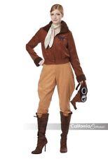 California Costumes Amelia Earhart Aviator Adult Womens Halloween Costume 01524