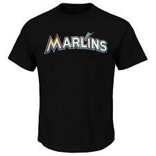 Miami Marlins Mlb Adulto Camiseta Clásica con Logotipo