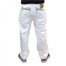 Picaldi Zicco 472 Jeans White-Grey Saddle- Karotten Fit weiss mit Schrift Berlin