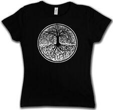 YGGDRASIL TREE LOGO II GIRLIE SHIRT - Arsen Celtic Irminsul Of Thor Life Girl