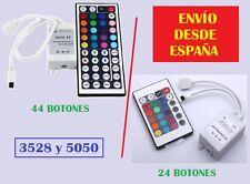 Controlador Tiras Led RGB 5050 y 3528 + Mando a distancia /Led Strip Control