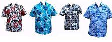 Surf Hawaiian Beach Funky Partido Nuevo Verano Fancy Stag Hawaii Ibiza Camisa M - 3xl