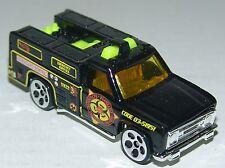Hot Wheels Rescue Ranger - Yellow Tinted Windows & Int - Ho5's - Malaysia 1998