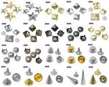 NP/E Pyramidennieten Pyramiden Nieten Ziernieten Gothic Punk*