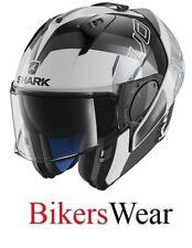 SHARK EVO-ONE 2 -Slasher WKS Flip Up modular Motorcycle Helmet with sun visor ZE