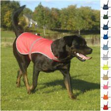 Dog High Visibility Safety Jacket Vest Walking Coat Yellow Hi Vis Viz Winter Top