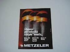 advertising Pubblicità 1976 PNEUMATICI METZELER