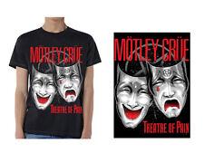 MOTLEY CRUE - Theatre Of Pain - T SHIRT S-M-L-XL-2XL Brand New Official