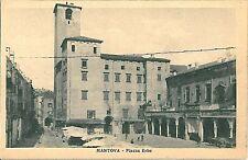 CARTOLINA d'Epoca: MANTOVA Città - PIAZZA ERBE